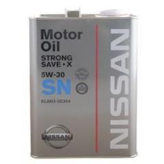 Strong Save X 5W30 SN 4LX6 - Dầu động cơ cao cấp chính hãng NISSAN